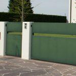 cancello pedonale e cancello carrabile realizzata su misura